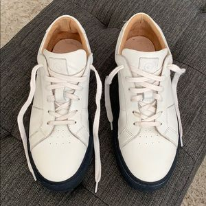 Greats Shoes - Greats Royale white leather sneakers